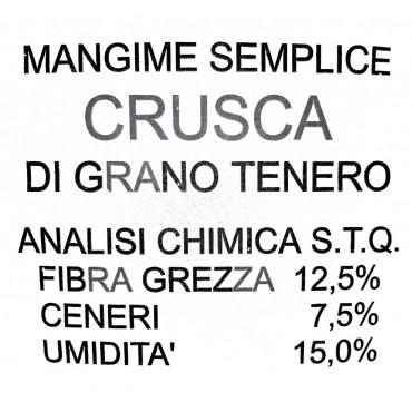25Kg CRUSCA DI GRANO TENERO