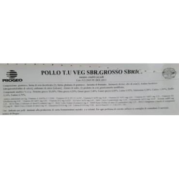 10Kg PROGEO Pollo T.U VEG...